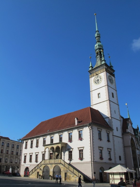 Olomouc Town Hall completed in the 15th century
