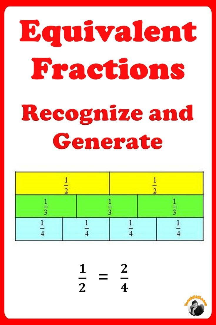Equivalent Fractions Worksheets 3rd 4th Grade Distance Learning Fractions Worksheets Equivalent Fractions Touch Math Worksheets