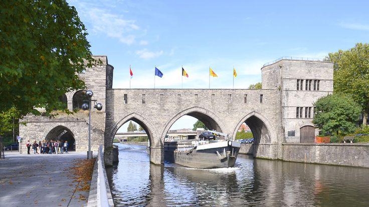Le Pont des Trous à Tournai