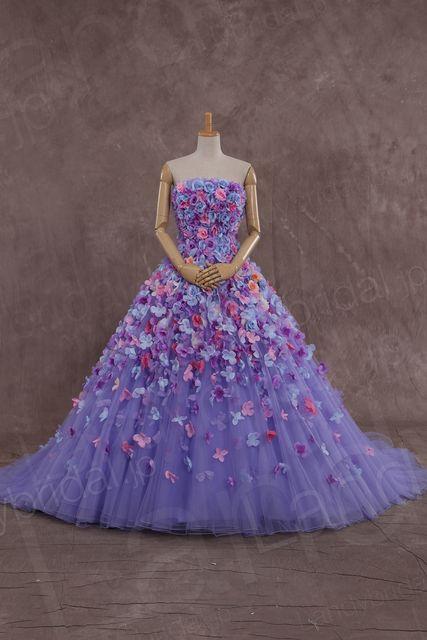 思いっきり華やか!お花いっぱいドレスまとめ -page2   Marry Jocee