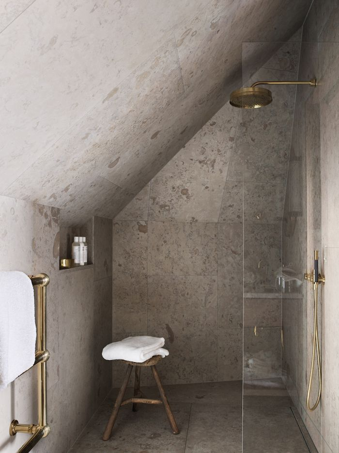 Came across some more photos of the beautiful Ett Hem Hotel in Stockholm (featured previously here) How stunning is the shower enclave in the first photo! Photos by Magnus Marding. x debra   follow on bloglovin' 1 via pinterest via ett hem The post Ett...