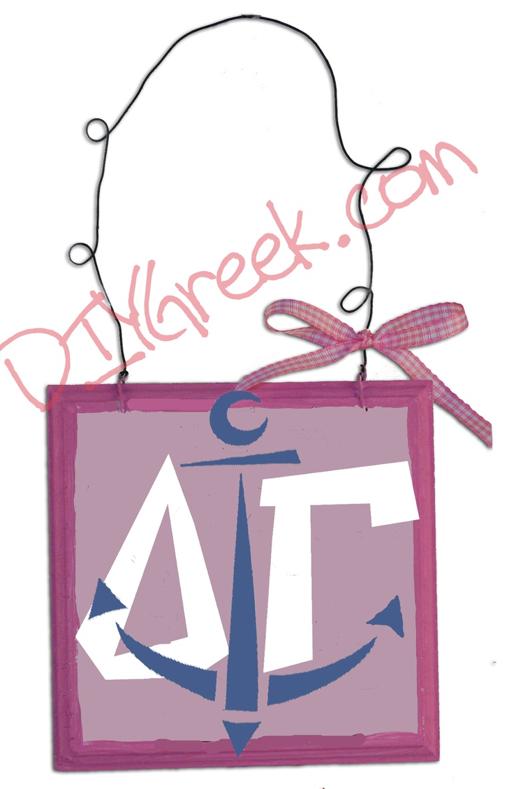 a great little example using the delta gam stencil and the greek letter stencils