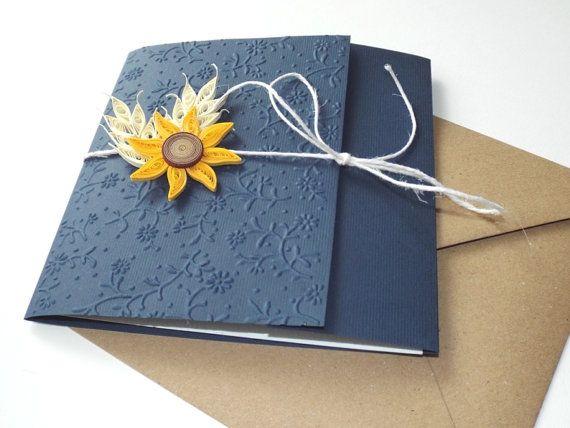 Handmade wedding invitation/Barn di mirelaemilia su Etsy