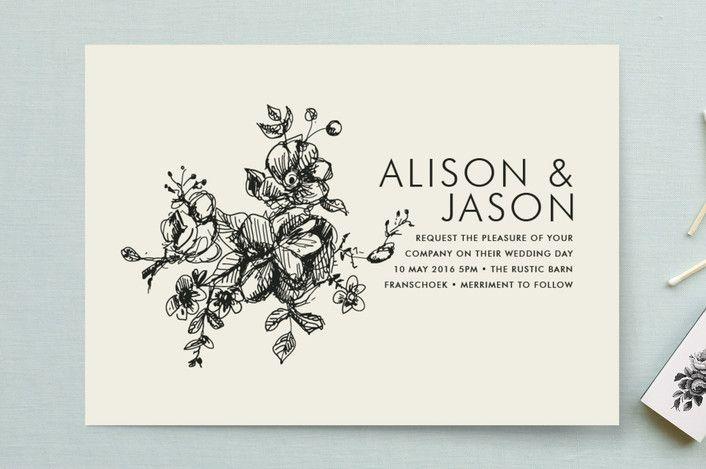 Elegance Illustrated Wedding Invitations by Phrosn...   Minted