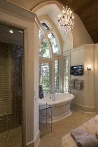 16 best images about cool bathrooms on pinterest paint for Cool master bathrooms