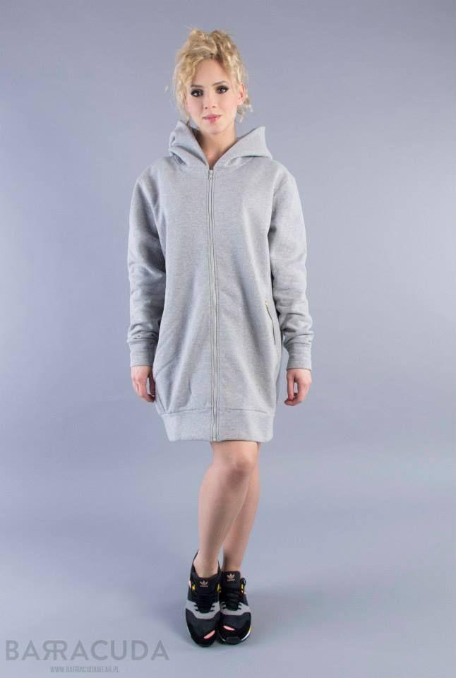 """Na zdjęciu: - Szara bluza """"hoodie"""" #barracudawear http://www.barracudawear.pl/basic/bluza-hoodie/"""