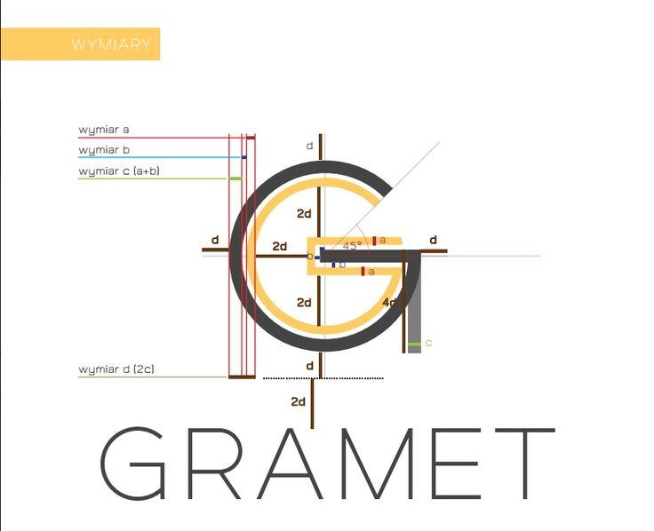 AIAC Agency for Gramet   Logo design   http://aiac.pl  #logo #design #logotype #aiac