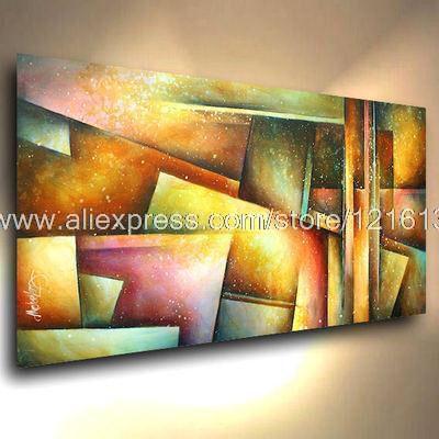 Lart de peinture à lhuile peinture abstrait acrylique peintures décoration murale art