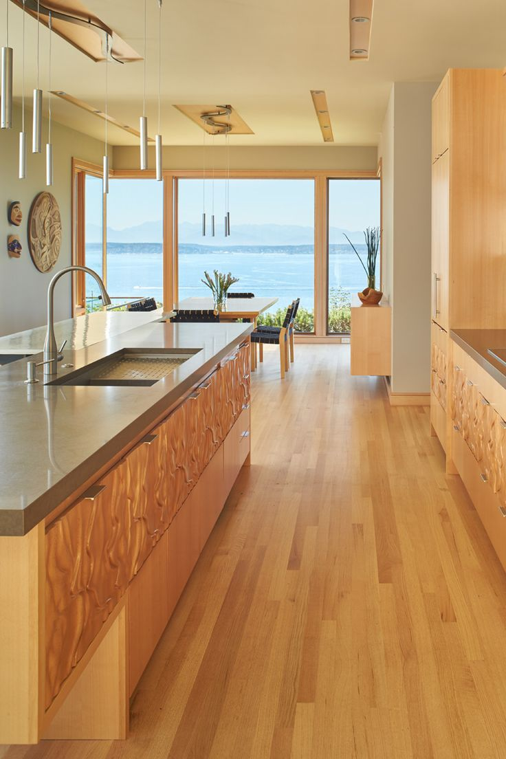 best clean line contemporary kitchen images on pinterest