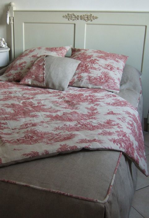 1000 images about toile de jouy in red on pinterest window treatments pink bedrooms and feed. Black Bedroom Furniture Sets. Home Design Ideas