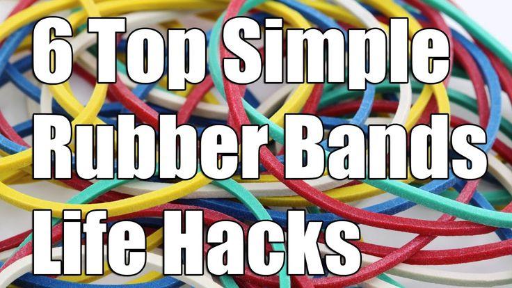 6 Лучшие Простые Резинки Life Hacks
