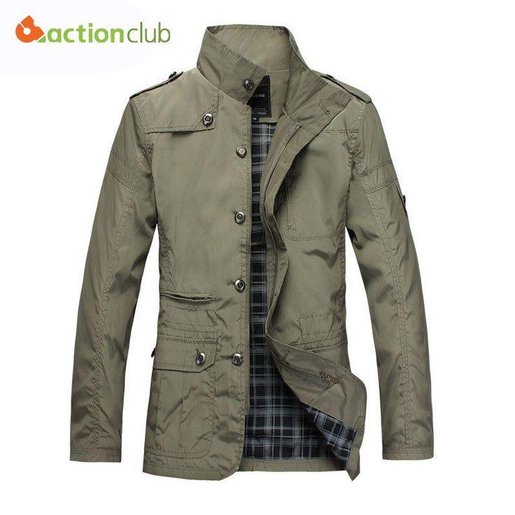 New Arrival Fashion Thin Men Jacket Coat Hot Sell Casual Wear 5XL Korean Comfort Autumn Overcoat Outwear Necessary