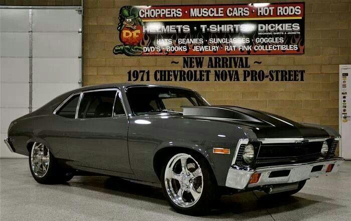 71 Chevy Nova Muscle Cars Chevy Nova Chevy