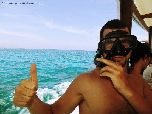 Snorkeling in Gilis is great