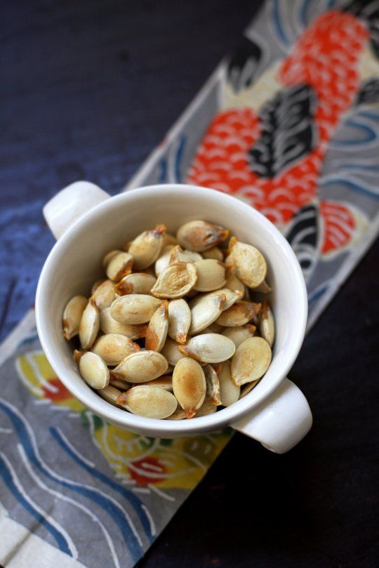 Done - How To Roast Pumpkin and Squash Seeds — Cooking Lessons from The Kitchn   The Kitchn