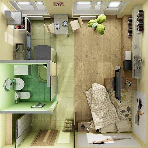 Cute Small Apartment Ideas 44 best one room living images on pinterest | apartment ideas