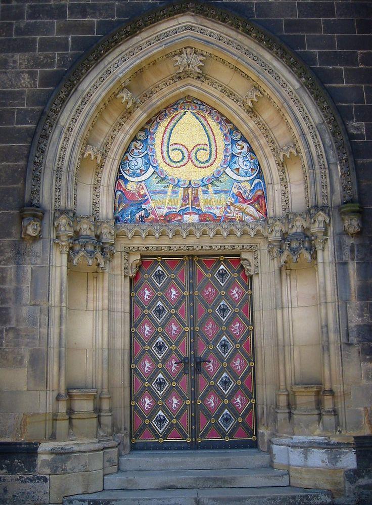 Doorway of the Church of Saints Peter & Paul.Vyšehrad. Praha/Prague.   Flickr - Photo Sharing!
