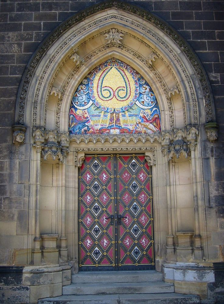 Doorway of the Church of Saints Peter & Paul.Vyšehrad. Praha/Prague. | Flickr - Photo Sharing!