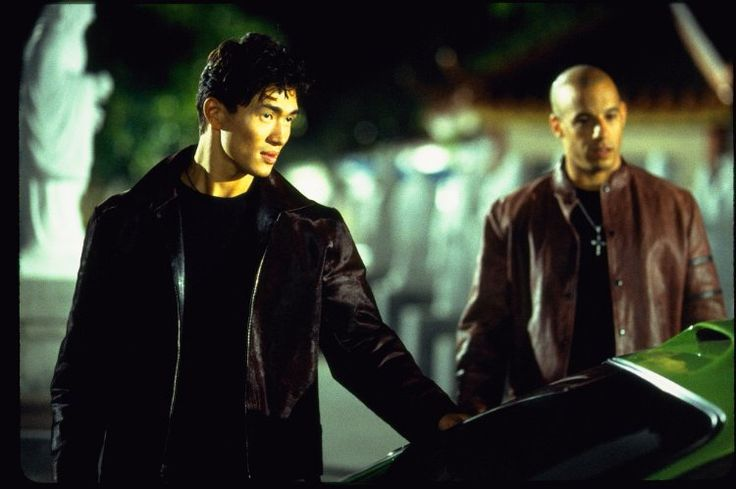 Vin Diesel and Rick Yune in The Fast and the Furious (2001)