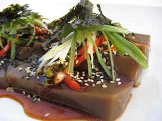 C.A.K.E.: 健康餐Healthy Meals 橡子涼粉Acorn Jelly 9/5/12