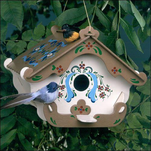 Wooden Bird House