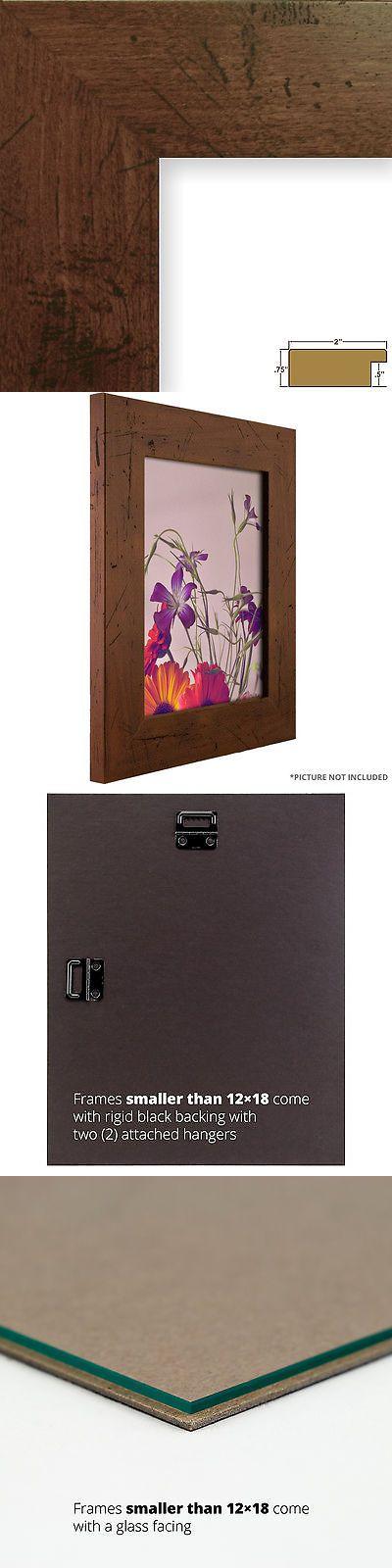 Frames 79654: Craig Frames Bauhaus, 2 Modern Dark Walnut Brown Picture Frame -> BUY IT NOW ONLY: $42 on eBay!