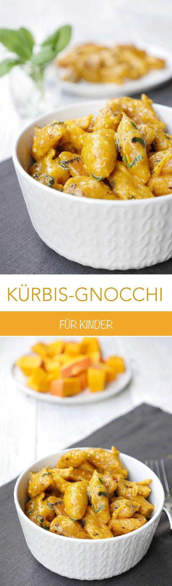leckere Kürbis-Gnocchi mit Salbei – ein tolles Herbstrezept für Kinder – Gaume…