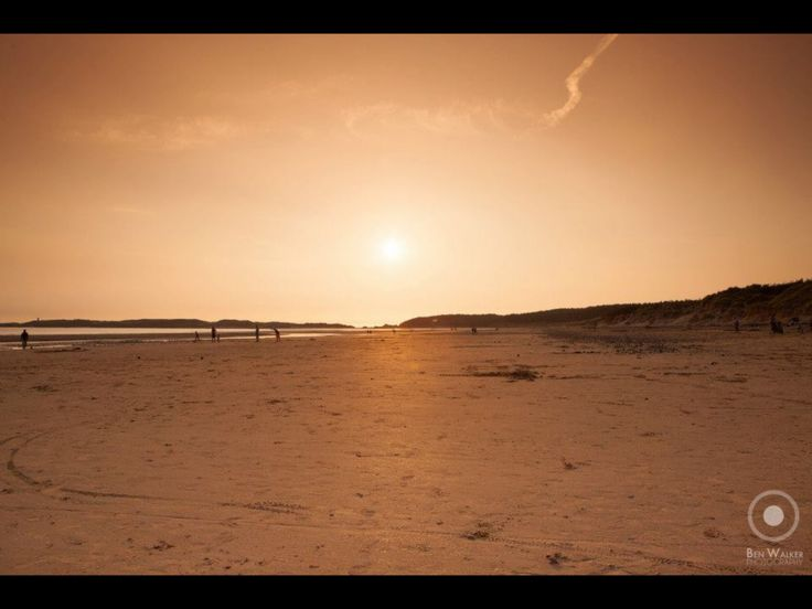 Newborough Beach Sunset