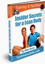 Insider Secrets for a Lean Body. FREE Ebook Download. Training & Nutrition Insider Secrets for a Lean-Body, by Mike Geary (a $17.99 value):  This ebook, created by Certified Nutrition Specialist & Certified Personal Trainer, Mike Geary, details over 27 specific metabolism-boosting secrets that you can use to strip off your stubborn body fat faster and easier.  Contains unique workout methods and nutritional strategies to slash body fat and take your body to a whole new level of leanness.