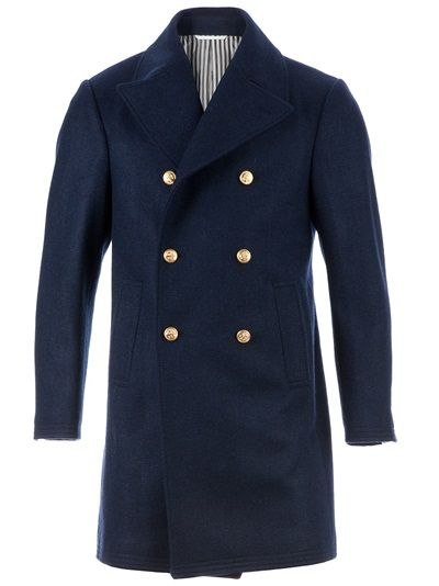 THOM BROWNE Military Coat