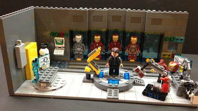 Lego Iron Man suits