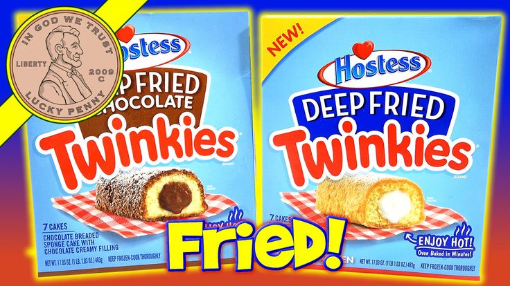Hostess Deep Fried Twinkies - Chocolate & Regular Flavors