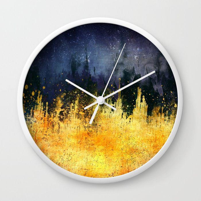 My burning desire Wall Clock by HappyMelvin | Society6