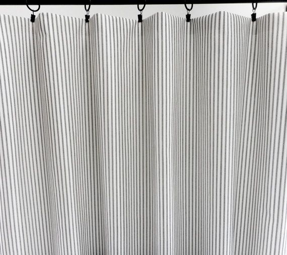 Cool,Trendy,Bold and Modern- choose your sizes.Make your personal statement with this eye-catching UNLINED 2 Panel Curtain Perfect for any room like your bedroom living room,kitchen,office and more. The curtain has 3 inches rod pocket but you can hang it with curtain clips if you want ( curtain clips not included) Curtain is affordable, durable and well made from a 100% cotton fabric. Otherwise noted.  COLOR: Black and white FABRIC: unlined 100% Cotton Printed in duck medium weight LENGTH…