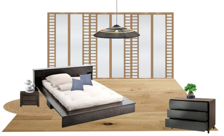 1000 id es sur le th me chambre coucher de style. Black Bedroom Furniture Sets. Home Design Ideas