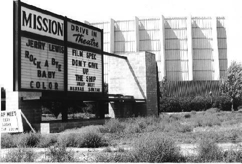 Mission Drive-In. Pomona, California