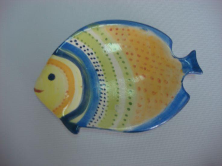 Bandeja pescado Cerámica