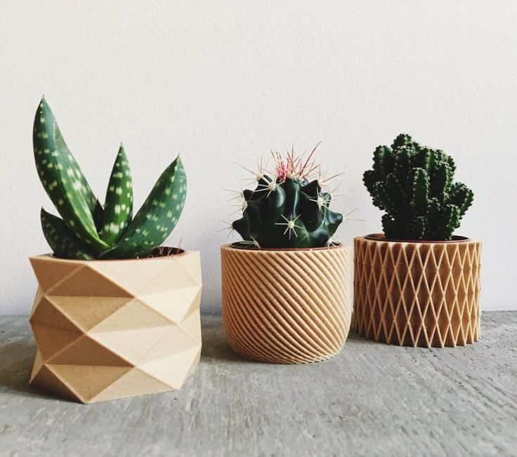 "8,155 Likes, 31 Comments - @etsy on Instagram: ""True or false: Etsy seller @minim_dsign made these planters using a 3D printer. 🌿 Happy…"""
