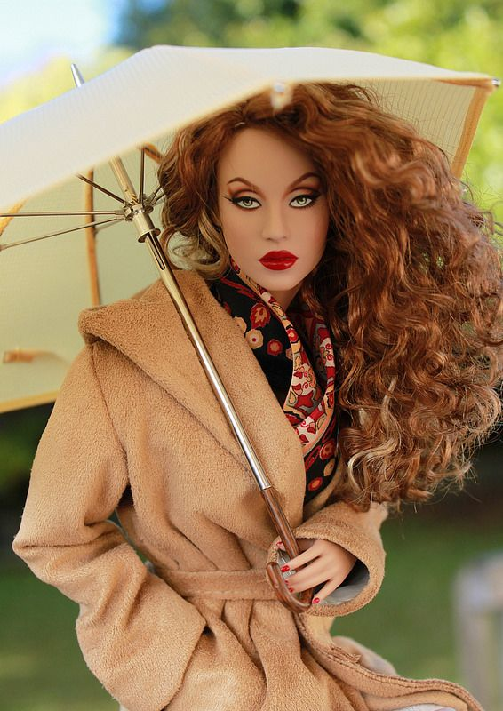 Sunshower | Ficon Miss G. Umbrella from FacetsbyMarcia. Jacket by me.