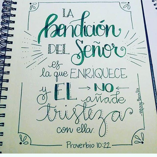 #MiDiarioBíblico #Lettering #BibleJournaling #Biblia por @maribonilla23