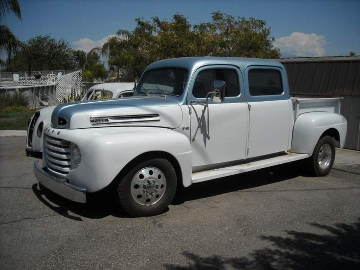 1948 Ford Crew Cab 1 Ton Dually Custom Custom Trucks