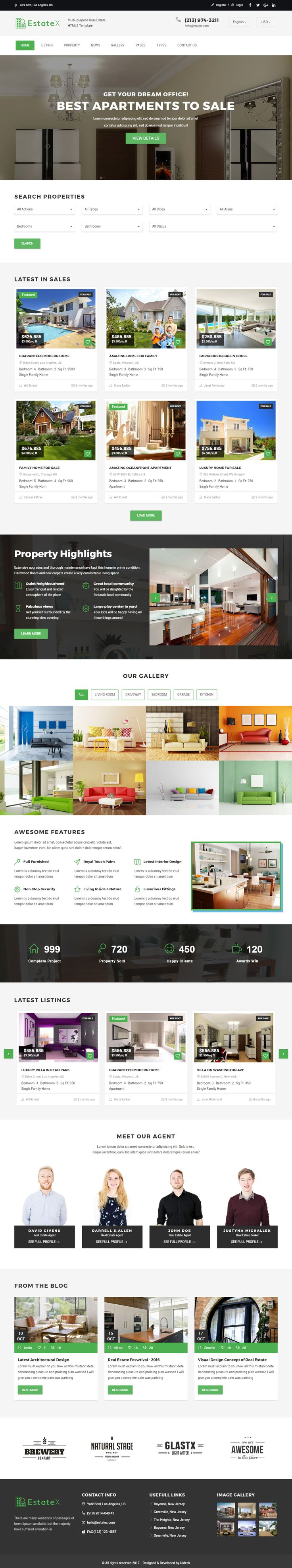 EstateX is Premium full Responsive Retina #RealEstate HTML5 Template. Bootstrap 3 Framework. If you like this #MaterialDesignTemplate visit our handpicked list of best #MaterialDesign Templates at: http://www.responsivemiracle.com/best-responsive-material-design-template-html5/