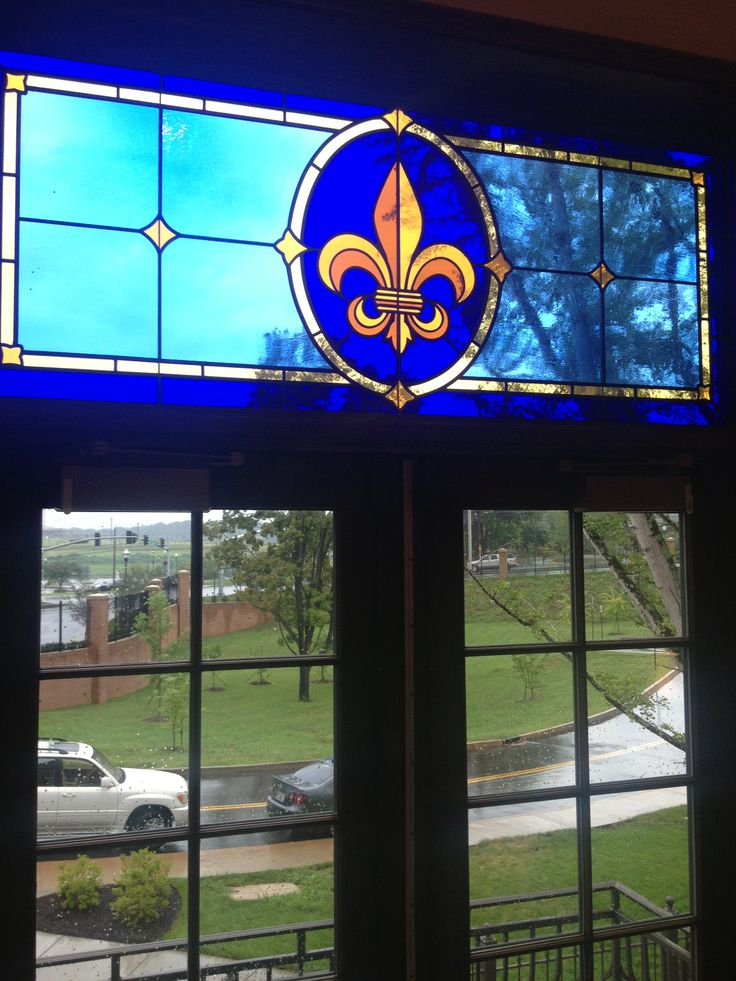 Stained glass window at the University of Tennessee