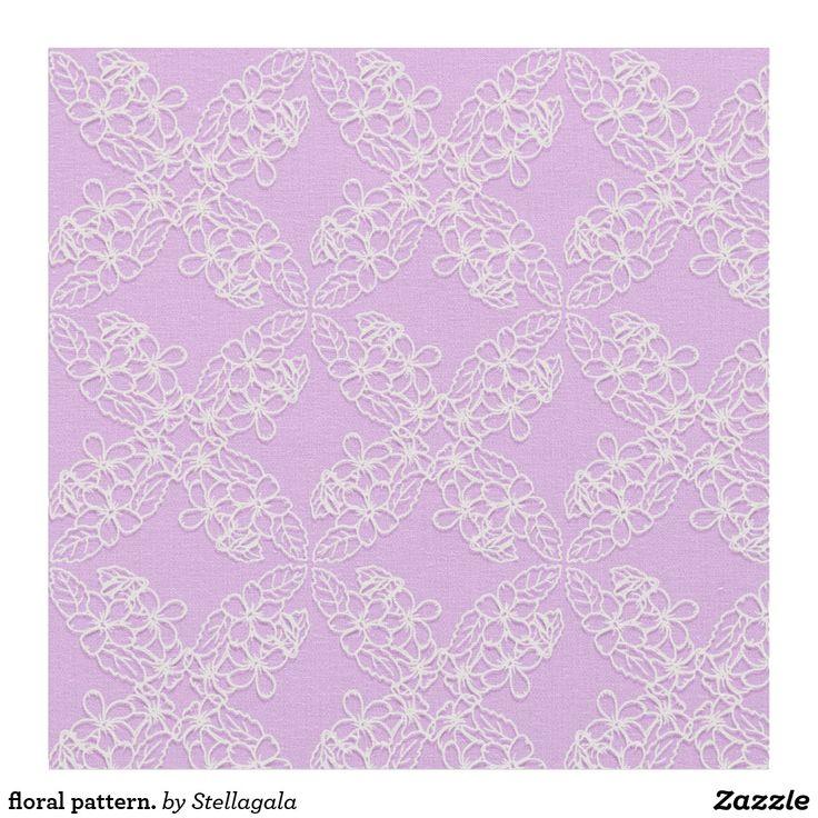 floral pattern #fabric #design  #floral