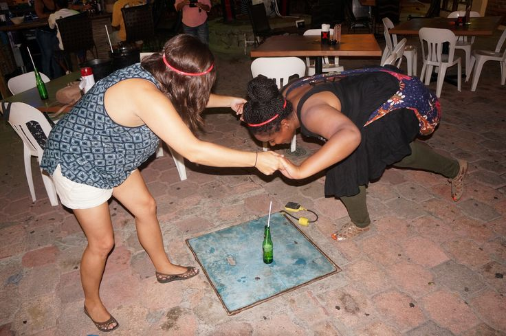 Crawlers LOVE tackling this drinking challenge with their friends!