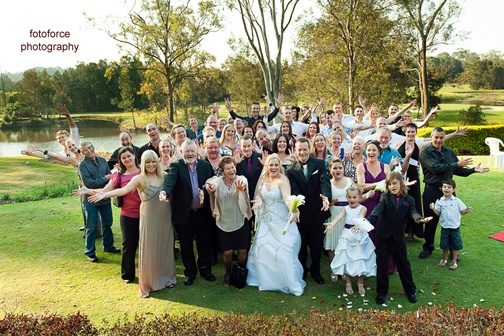 Gold Coast Wedding Ceremony at Gainsborough Greens. Looking for a Marriage Celebrant too?  Gold Coast Celebrations ~ Tennille Jones can create your special, personalised marriage ceremony.
