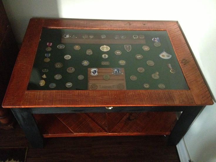 Challenge coin display table - challenge coin display table