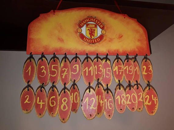 Check out this item in my Etsy shop https://www.etsy.com/listing/565996735/advent-calendar-for-manchester-united
