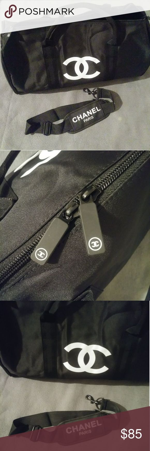 Chanel Duffle Bag VIP Gift Brand New Chanel Sports Duffle Bag VIP Gift L18 x H12 x D8  Has Chanel VIP Gift Tag Inside Not Sold in Stores CHANEL Other