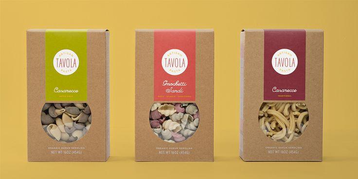 Tavola Pasta — The Dieline - Branding & Packaging